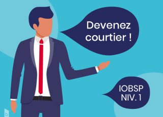 Devenez courtier iobsp niveau 1 -100% e-learning