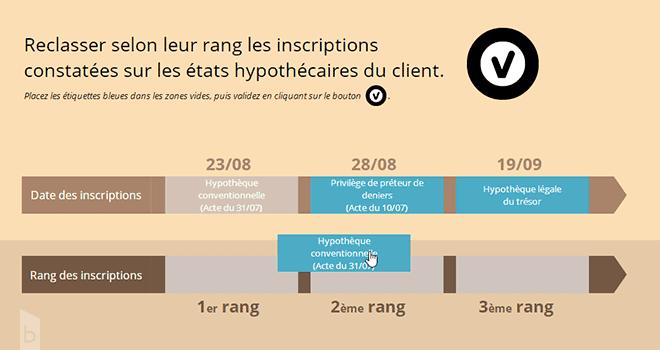 Formation rac rachats de crédits - illustration exercice de la formation campus babylon.fr