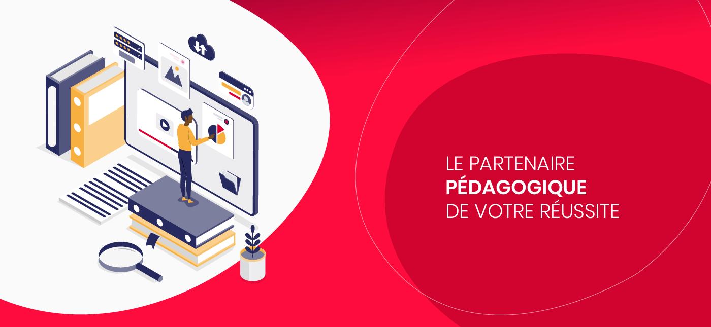Illustration web pour campus.babylon.fr - organisme de formation dans les métiers du crédit et l'assurance